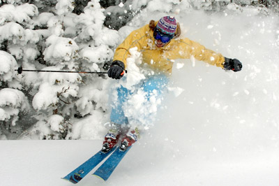 Grand Targhee Powder Skiing
