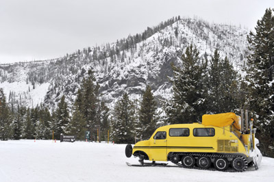Winter Yellowstone Snowcoach Tours